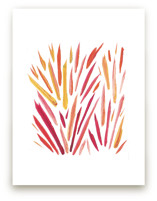Fire Grass by Holly Royval