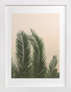 Tropical Palm Tree Art Print