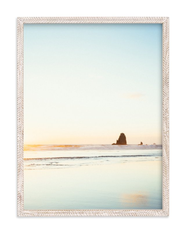 """""""Cannon Beach No. 2"""" - Limited Edition Art Print by Kamala Nahas in beautiful frame options and a variety of sizes."""