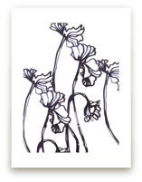 Ink Cyclamen by Sonal Nathwani