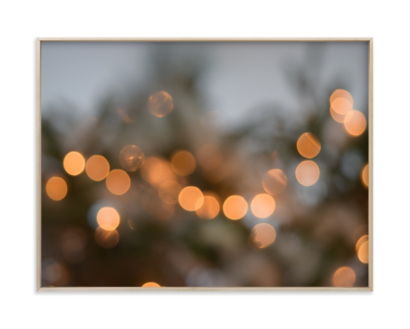 """""""Holiday Bokah"""" - Limited Edition Art Print by Rosie Elena Thompson in beautiful frame options and a variety of sizes."""