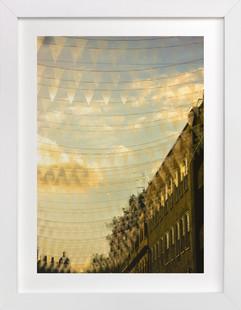 Vibrant summer sunset at Covent Garden Art Print
