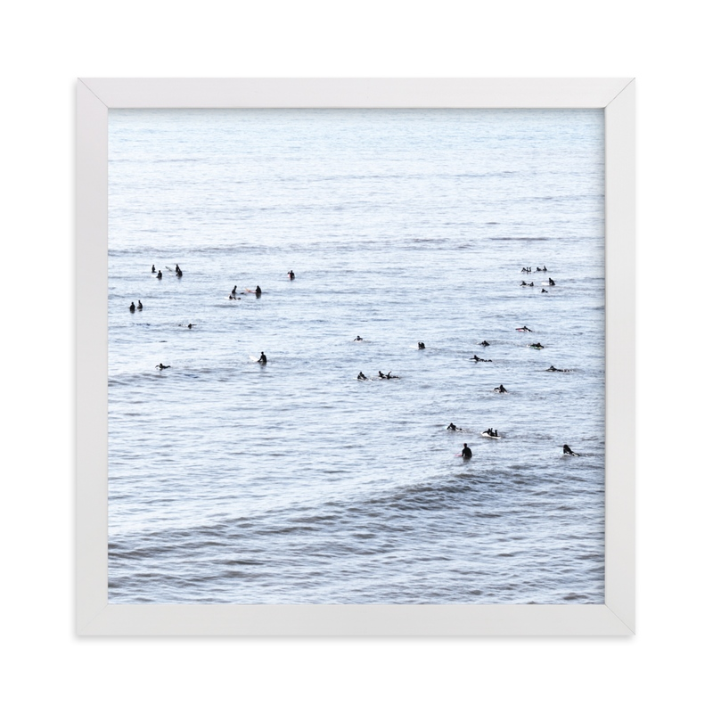 """""""Find Light In The Beautiful Sea"""" - Limited Edition Art Print by Summer Strauch in beautiful frame options and a variety of sizes."""