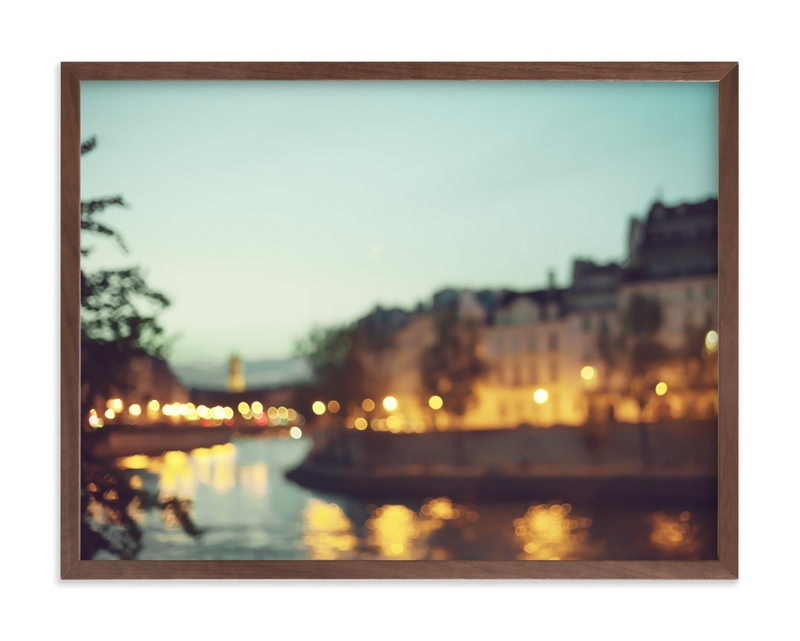 By the Seine Art Print