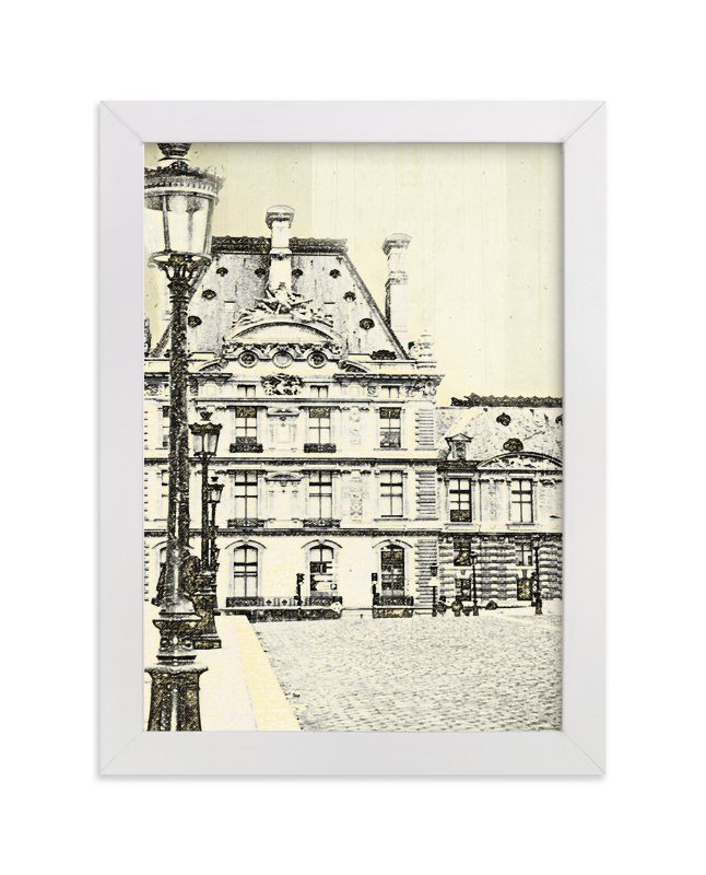 """""""Sketching Paris ll"""" - Limited Edition Art Print by Alison Jerry Designs in beautiful frame options and a variety of sizes."""