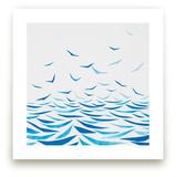 Seabirds by Mia Posada