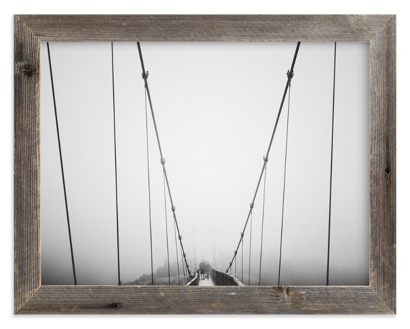 """""""through the fog"""" - Limited Edition Art Print by Oriana Koren in beautiful frame options and a variety of sizes."""