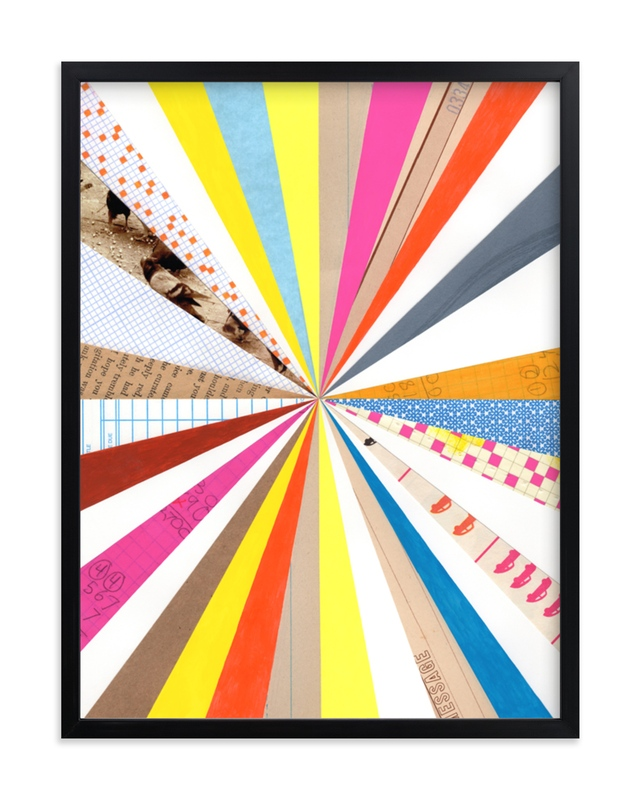 """""""Pinwheel 1"""" - Grownup Open Edition Non-custom Art Print by Shelley Kommers in beautiful frame options and a variety of sizes."""