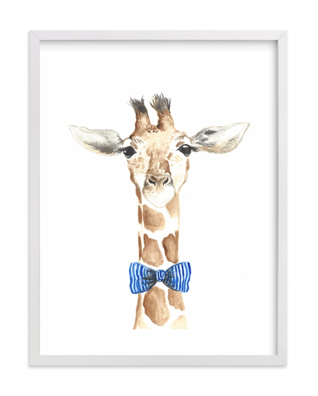 Dapper Giraffe Grownup Open Edition Non-Custom Art Print