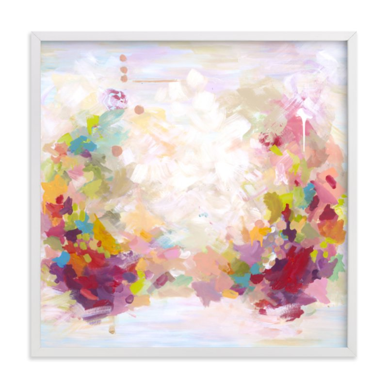 """""""Breathe"""" - Grownup Open Edition Non-custom Art Print by Svitlana Martynjuk in beautiful frame options and a variety of sizes."""