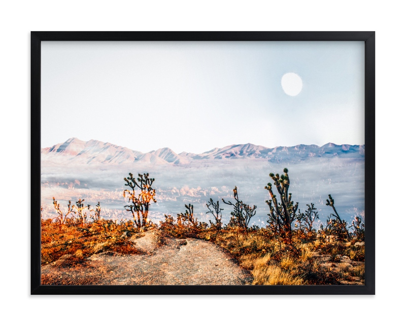 Desert Super Moon Grownup Open Edition Non-Custom Art Print