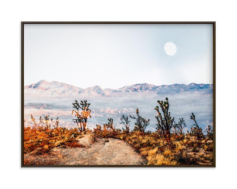 Desert Super Moon Grownup Open Edition Non-Custom Art Print