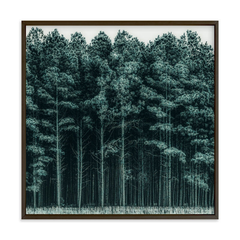 """""""Through the Trees"""" - Grownup Open Edition Non-custom Art Print by Keely Norton Owendoff in beautiful frame options and a variety of sizes."""
