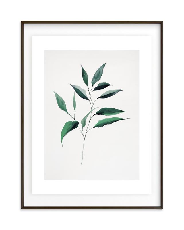 Magnolia Foliage Grownup Open Edition Non-Custom Art Print