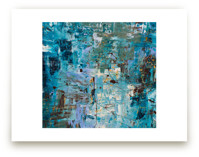 Blue Ocean I by Carmen Guedez