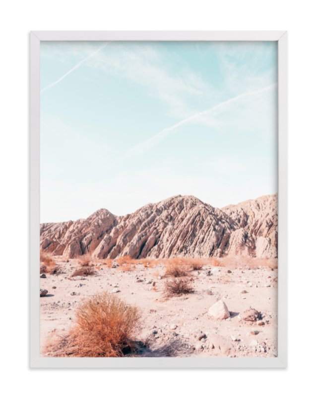 """""""Painted Canyon 4"""" - Grownup Open Edition Non-custom Art Print by Kamala Nahas in beautiful frame options and a variety of sizes."""