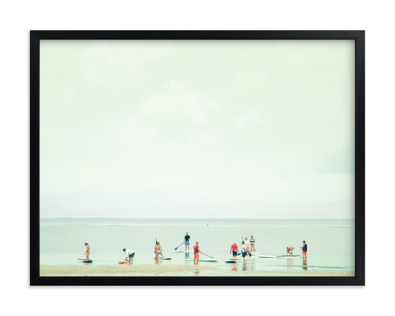 """""""Joy Ride 1"""" - Grownup Open Edition Non-custom Art Print by Rega in beautiful frame options and a variety of sizes."""