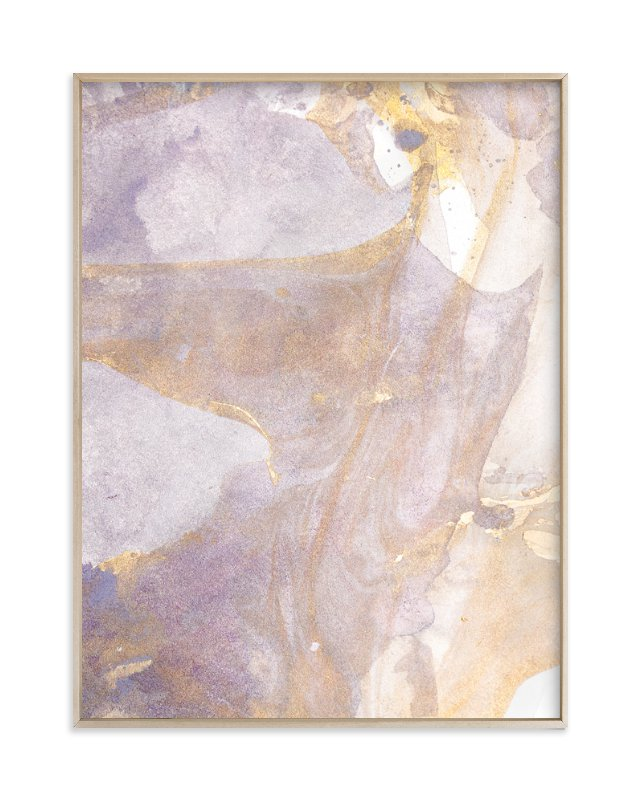 """""""Soft Shimmer No. 1"""" - Grownup Open Edition Non-custom Art Print by Julia Contacessi in beautiful frame options and a variety of sizes."""