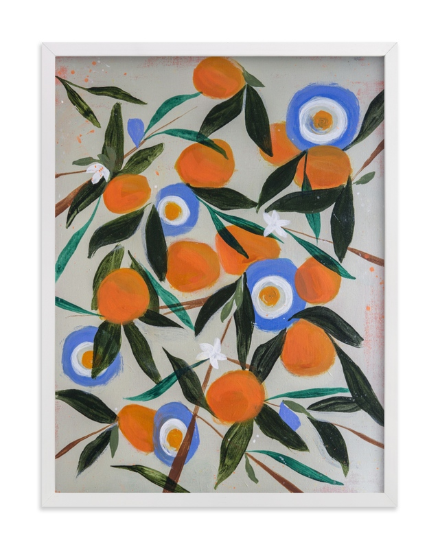 This is a orange art by Rachel Roe called Orange Tree.