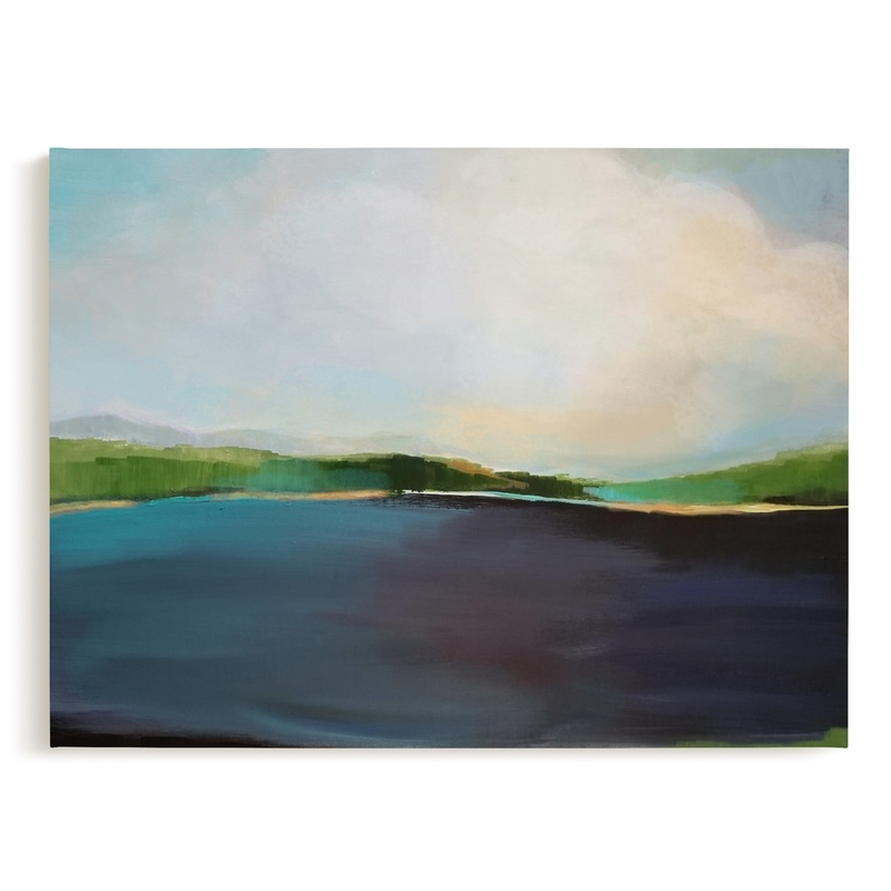 Lake View Grownup Open Edition Non-Custom Art Print