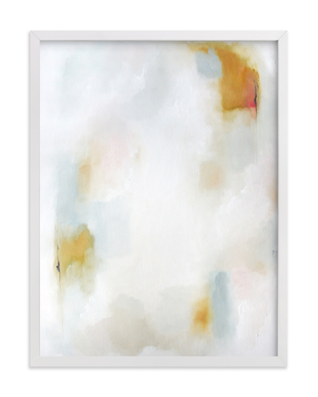 """""""Breathe"""" - Grownup Open Edition Non-custom Art Print by Nicoletta Savod in beautiful frame options and a variety of sizes."""