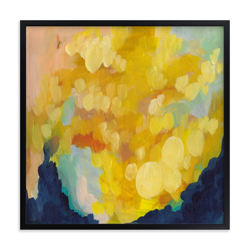 """""""Goldenrod"""" - Grownup Open Edition Non-custom Art Print by Holly Whitcomb in beautiful frame options and a variety of sizes."""