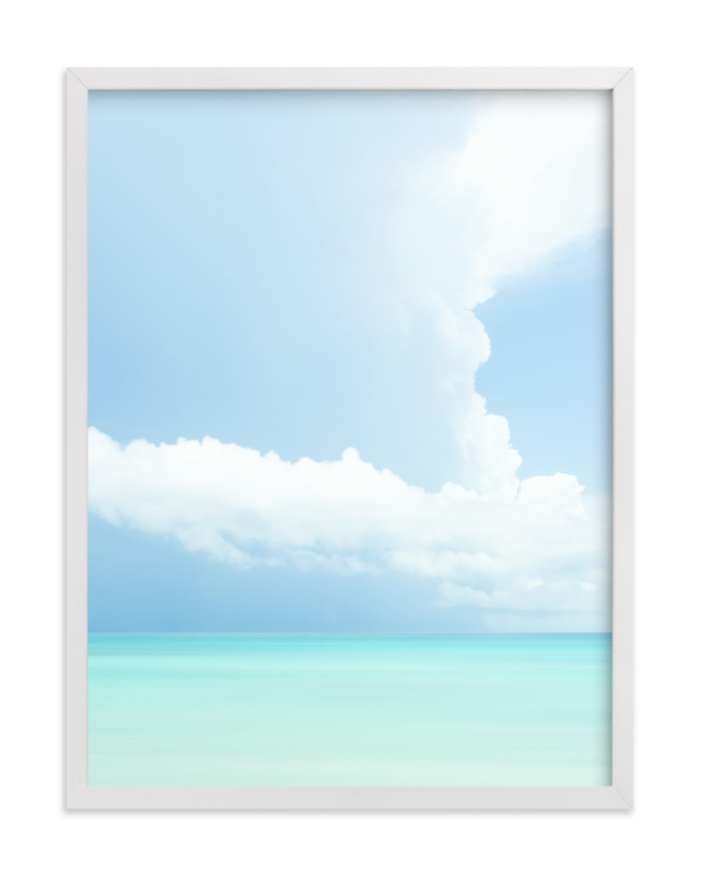 """""""Summer Clouds Series 2"""" - Grownup Open Edition Non-custom Art Print by Lisa Sundin in beautiful frame options and a variety of sizes."""