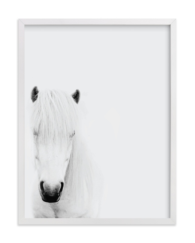 This is a white art by Irene Suchocki called Dalla.