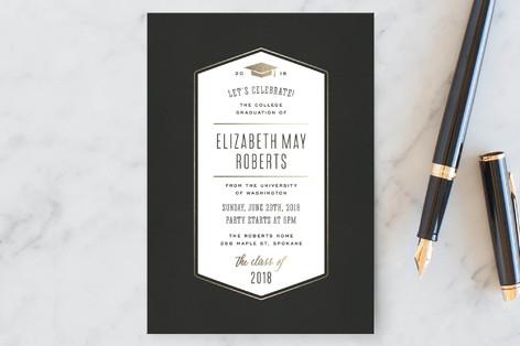 Grad Celebration Graduation Announcement Postcards
