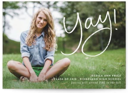 Yay for the Graduate Graduation Announcement Postcards