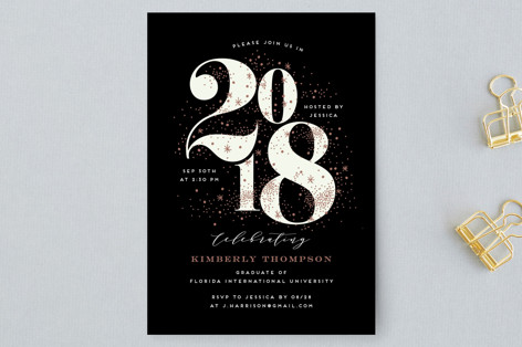 Big year graduation announcement postcards by iamt minted big year graduation announcement postcards filmwisefo