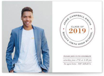 Graduate Ring Graduation Announcement Postcards
