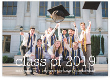 Happy Everything Graduation Announcement Postcards