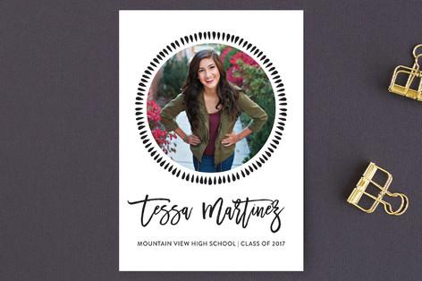 Joyful Graduation Announcement Postcards