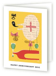 Fun Games That Make You Laugh Anniversary Greeting Cards
