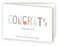 Typographic Congrats
