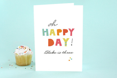 Bright and Happy Kid's Birthday Greeting Cards