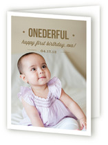Onederful