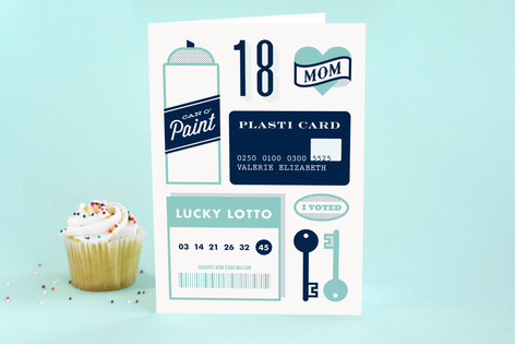 Now That You're 18 Kid's Birthday Greeting Cards