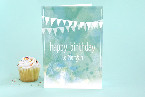 Watercolor Birthday Kids Birthday Greeting Cards Minted