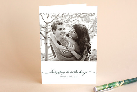 Beautifully Penned Birthday Greeting Cards