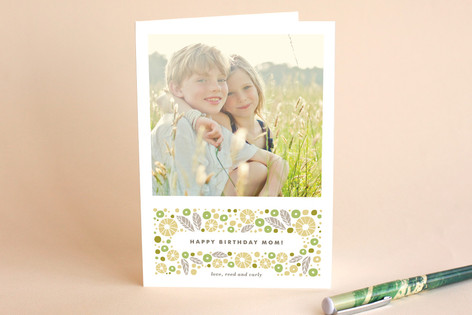 Sparkling Berry Birthday Greeting Cards