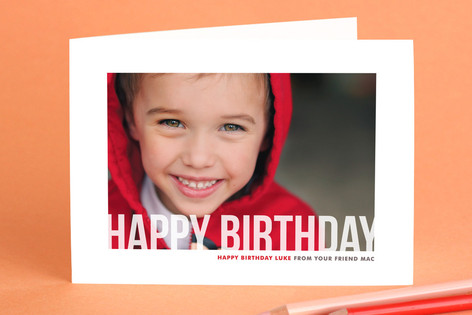 Studio Crop Birthday Greeting Cards