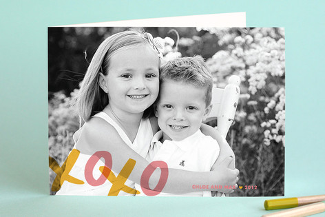XOXO Birthday Greeting Cards