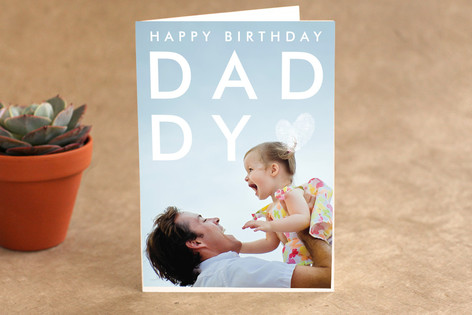 Thumbprint Love Birthday Greeting Cards