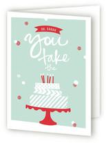 Washi Tape Birthday Cake
