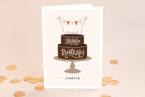 Birthday Cake Birthday Greeting Cards
