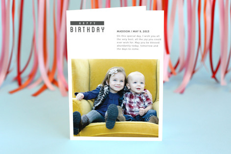 The Minimal Birthday Birthday Greeting Cards