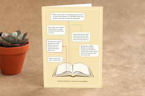 Your Next Chapter Birthday Greeting Cards