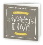 Sending Birthday Love by Rebekah Disch